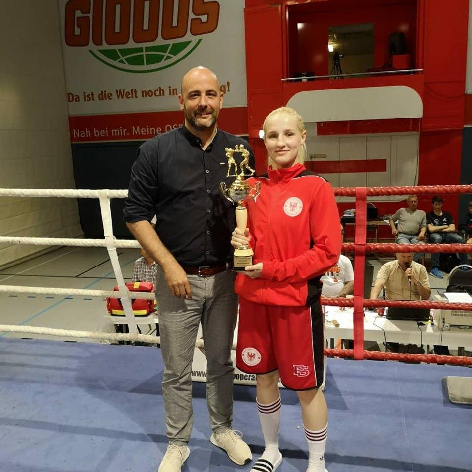 Beste Boxerin - Elisa Rohde