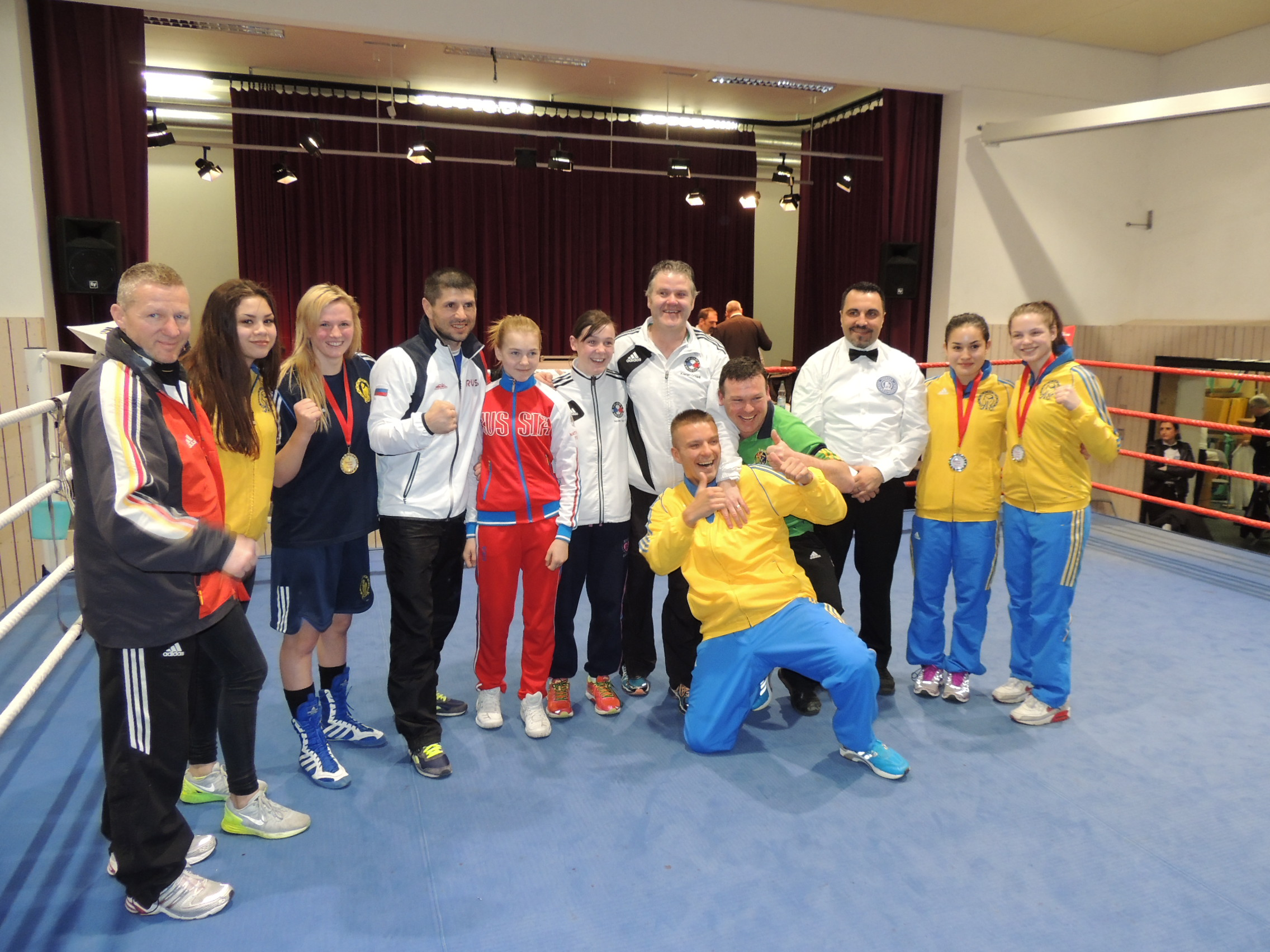 Queens Cup Boxen U17/U19 2015