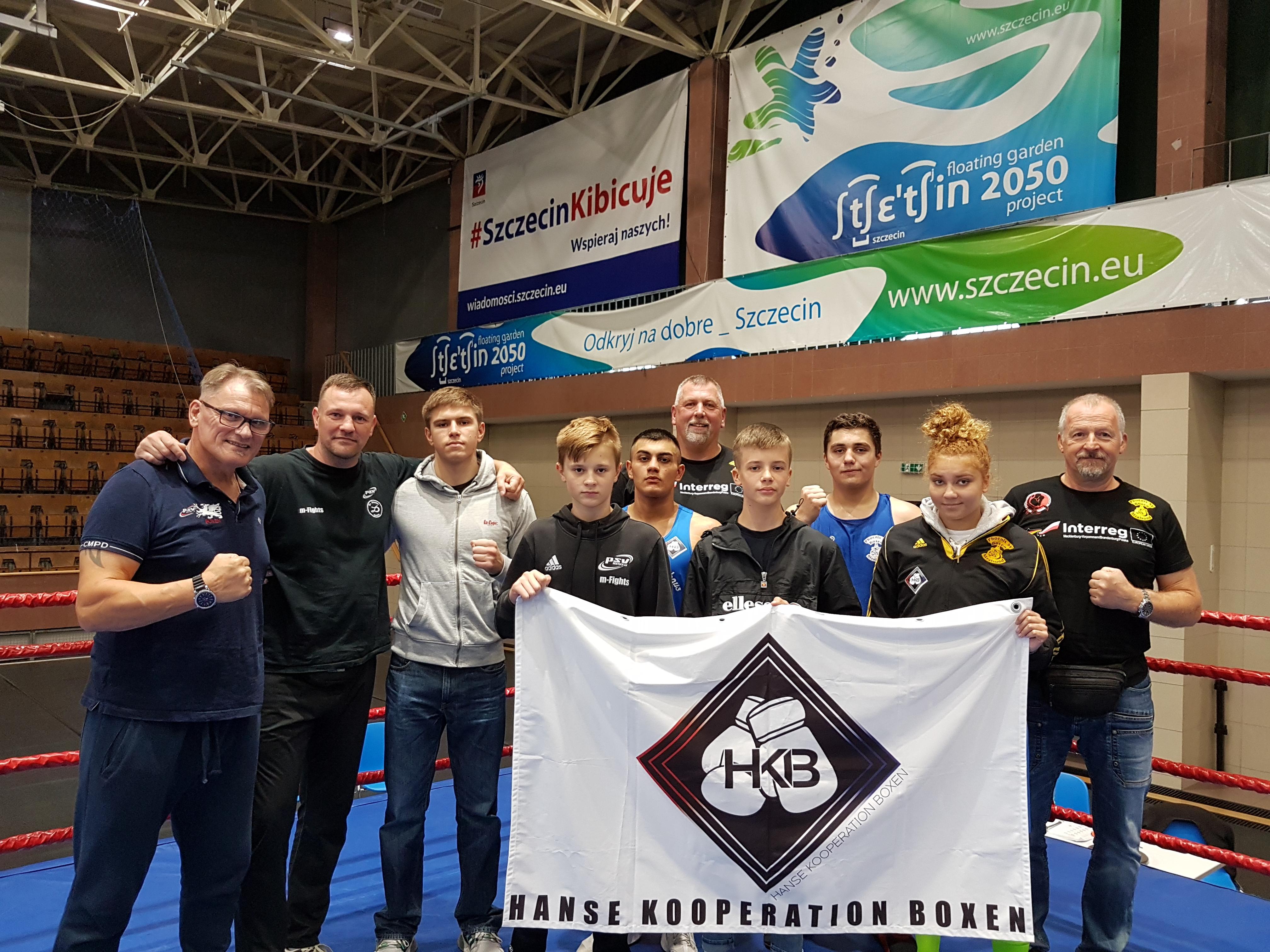 HKB-Team in Stettin / Polen