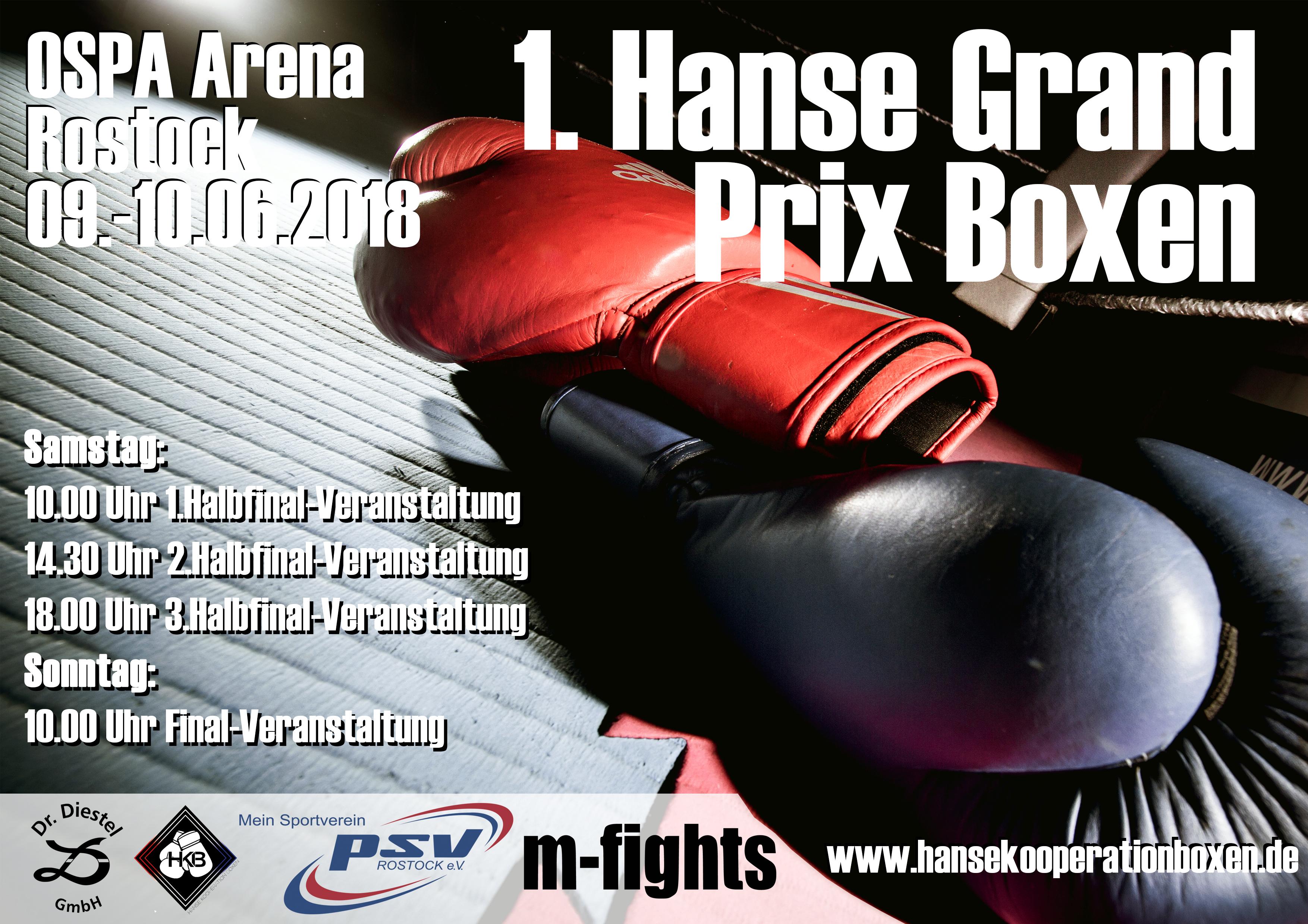 1. Hanse Grand Prix Boxen 2018