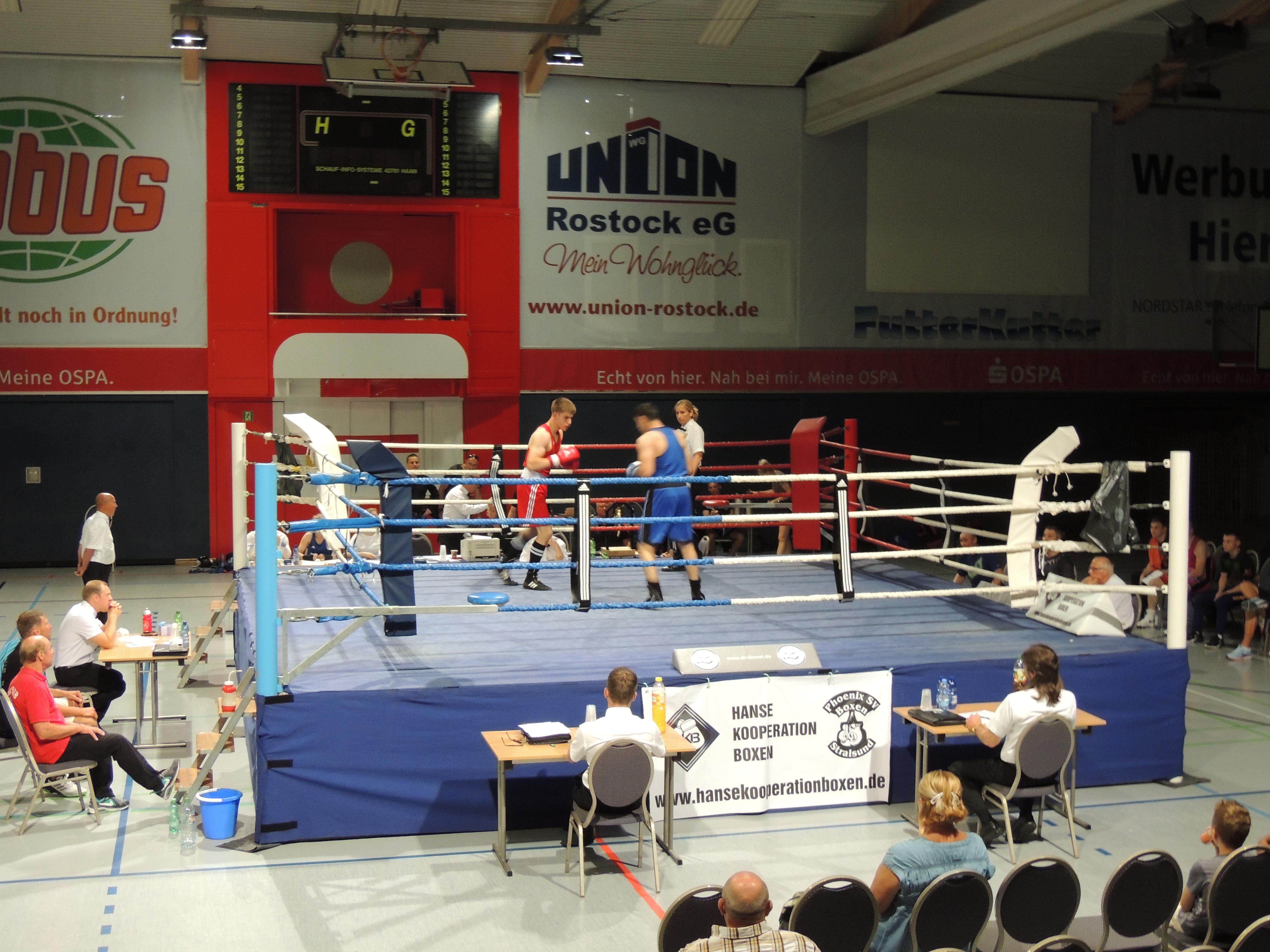 Austragungsstätte OSPA Arena Rostock