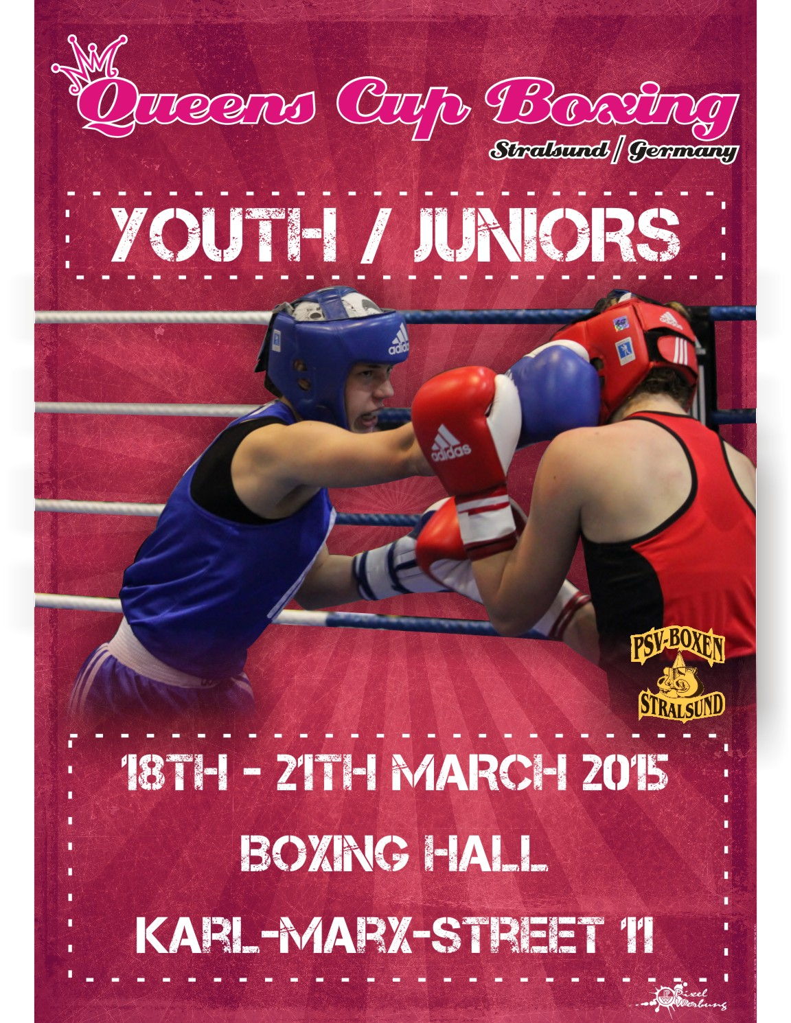 QUEENS CUP BOXING 2015