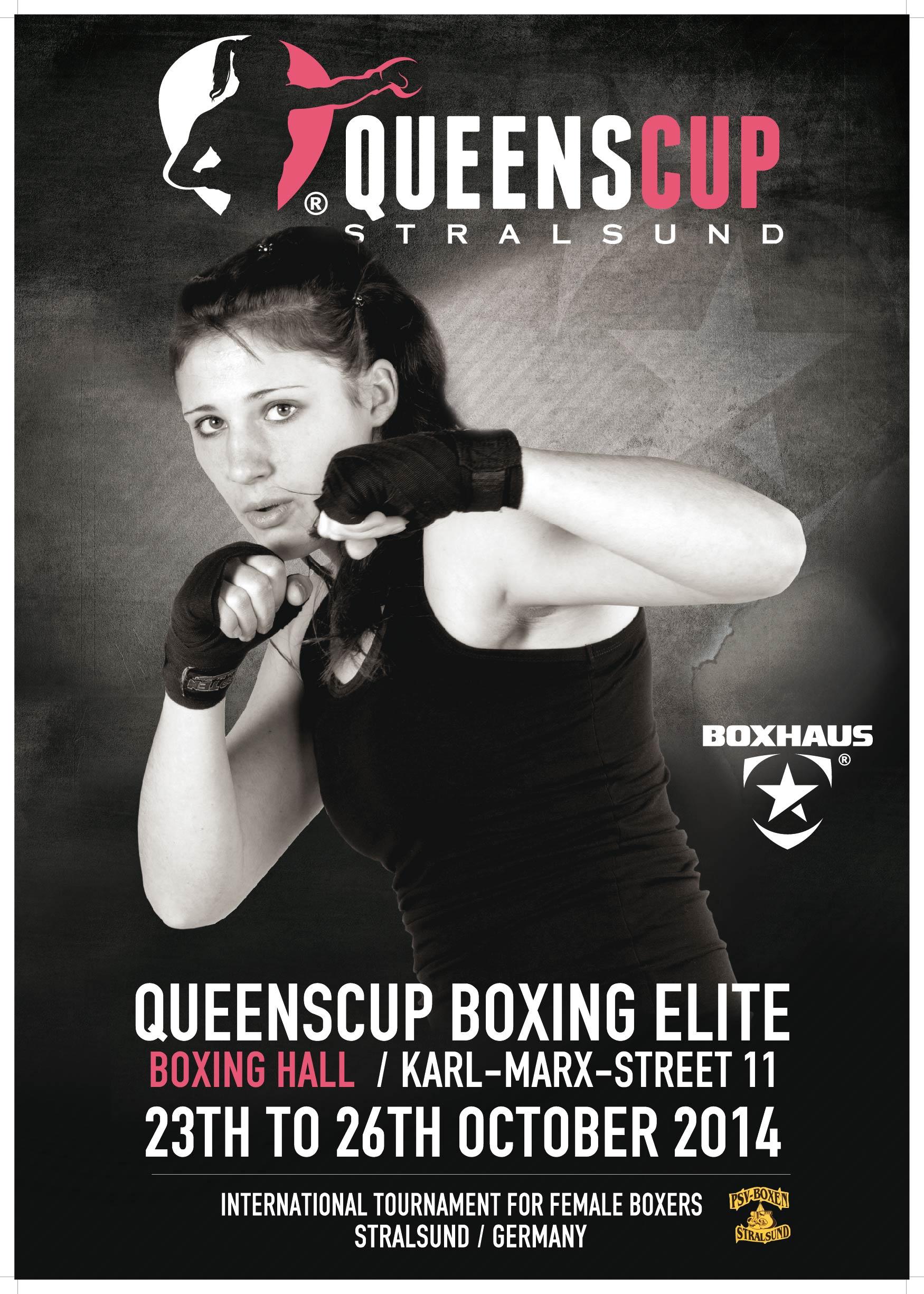 Queens Cup Boxing Elite 2014