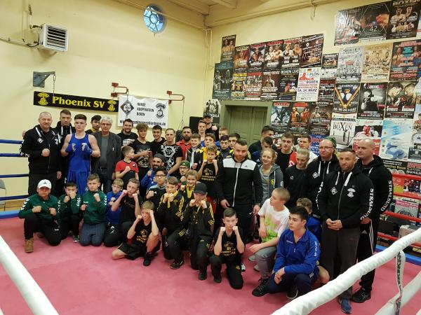 HKB-Boxer beim Phoenix Box-Cup 2019